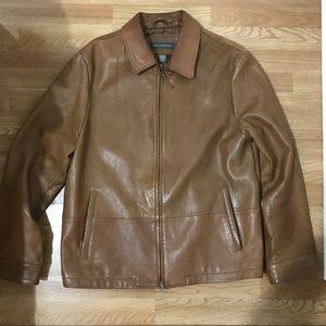 Banana Republic Genuine Leather Jacket Size XL